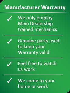 Manufacturer Warranty